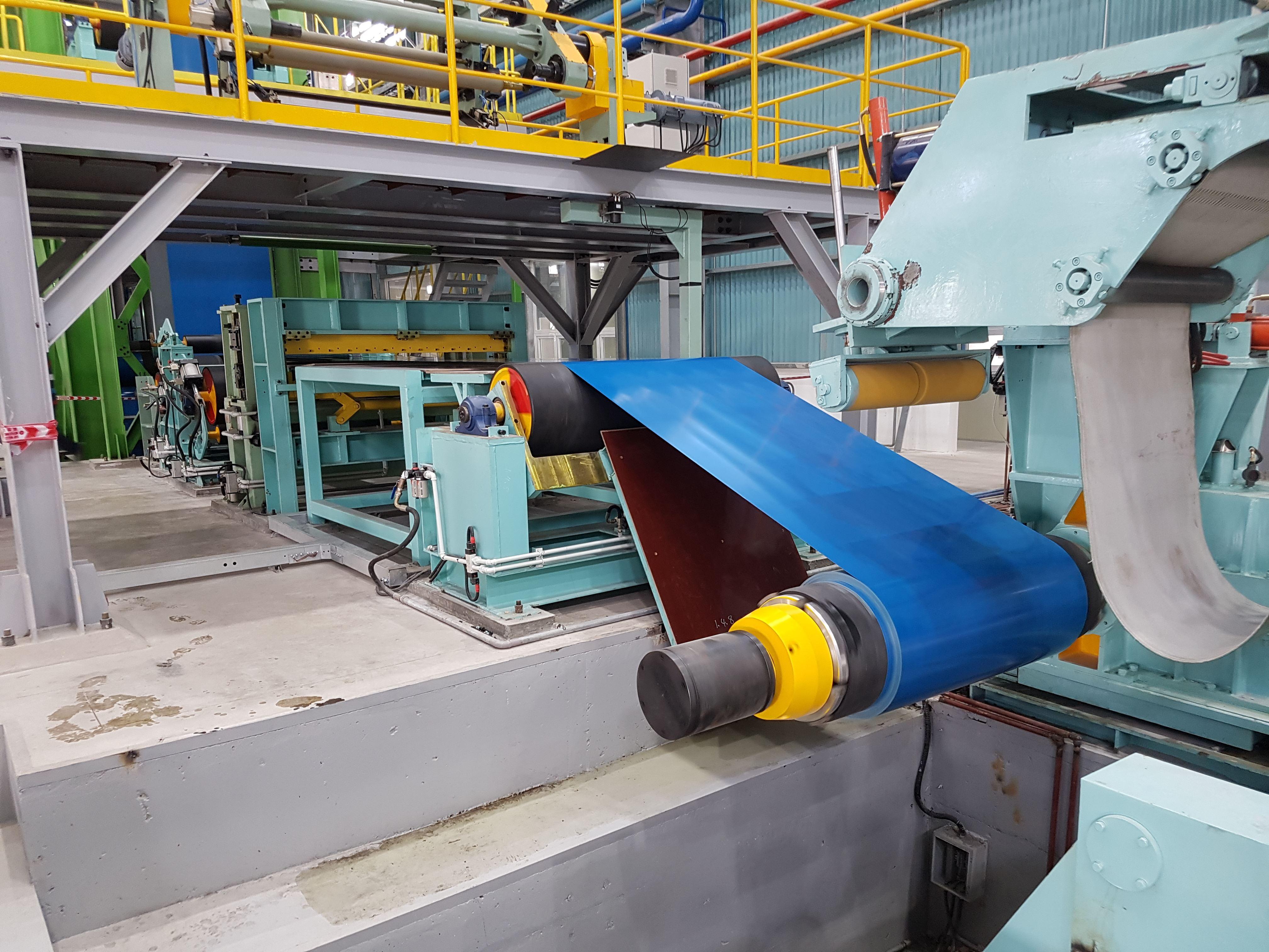 베트남 CCL(에스와이스틸비나) 시제품 생산 영상입니다.