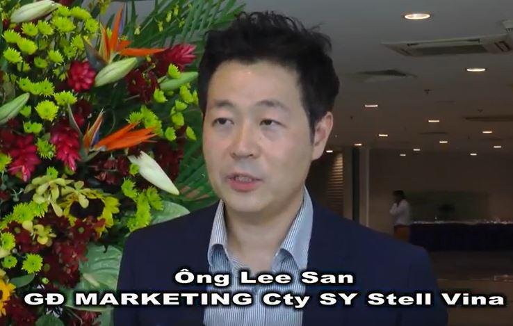 2018 비엣빌드 호치민 전시회 베트남 HTV 인터뷰영상